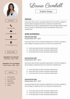 Resume Templates Modern Resume Template CV Template for MS Word Template Cv, Modern Resume Template, Resume Templates, Cover Letter For Resume, Cover Letter Template, Word Cv, Free Resume Examples, Resume Tips, Resume Skills