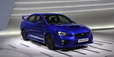 New Review 2015 Subaru WRX STI Release Front View Model