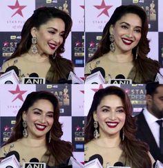 Madhuri Dixit attends Star Screen Awards 2018