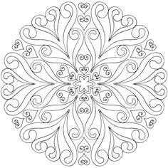 This is Life in Bloom - a free mandala coloring page for you to print, color, and share. :) Drawn by @tabbybarnett https://mondaymandala.com/m/life-in-bloom?utm_campaign=sendible-pinterest&utm_medium=social&utm_source=pinterest&utm_content=life-in-bloom#utm_sguid=173370,6d00633a-d4b0-2dab-e682-d2d376d42782