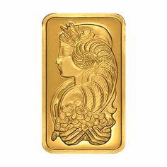 PAMP Suisse 100 Gram Gold Bar - Fortuna Design