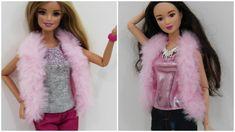 Como fazer Colete de Pelúcia para Barbie