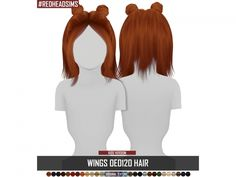 WINGS OE0120 HAIR KIDS VERSION - The Sims 4 Download - SimsDomination