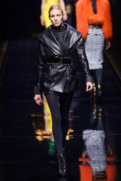 Balmain leather jacket | Fall 2014