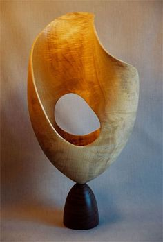 John McAbery Current Works Modern Sculpture, Abstract Sculpture, Wood Sculpture, Plastic Art, Art Carved, Wood Design, Wood And Metal, Wood Turning, Ceramic Art