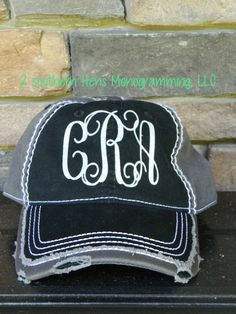 160061c03a6 GLITTER Vinyl Monogram Distressed Vintage Baseball Hat Super Comfortable  the perfect accessory for the summer