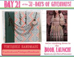Day 21 of the 31 Days of Giveaway - Jessica Dotta