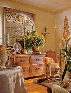 EFabulous French Country! Eye For Design: Old World Interiors ......Diane Burn Style