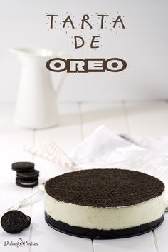 Delicious Oreo cake, without oven. A recipe to easily prepare an Oreo cake for lovers of cheese and Oreo biscuits. Delicious Oreo cake, without oven. A recipe to easily prepare an Oreo cake for lovers of cheese and Oreo biscuits. Mini Cakes, Cupcake Cakes, Food Cakes, Oreo Cake, Oreo Cheesecake, Sweet Recipes, Cake Recipes, Dessert Recipes, Pumpkin Pie Bars