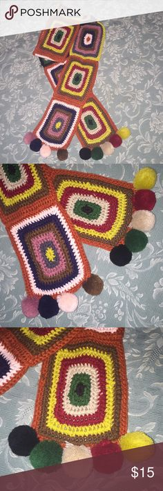 Mossimo Aztec Scarf Beautiful crochet scarf. Mossimo Supply Co. Accessories Scarves & Wraps