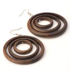 81stgeneration Women's Wood .925 Sterling Silver Round Brown Dangle Hoop Earrings 81stgeneration http://www.amazon.com/dp/B0030Z24JM/ref=cm_sw_r_pi_dp_Nl03wb1GMHT49