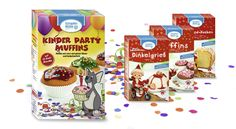 Kinder Party Muffins Snack Recipes, Snacks, Pop Tarts, Logan, Muffins, Packaging, Food, Advertising Agency, Snack Mix Recipes