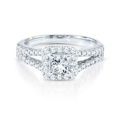 Style 1767054, Diamond Masterpiece 3/4CT TW Engagement Ring in 18K Gold, $4,999, Helzberg