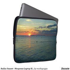 Anilao Sunset - Neoprene Laptop Sleeve 13 inch