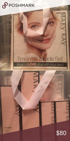 Mary Kay TimeWise Miracle Set With 11 age-defying benefits in one system, the TimeWise Miracle Set is clinically shown to reduce the appearance of fine lines, target skin resilience and help skin tone look more even. I have 5 available in (normal/dry) and 5 available in (combo/oily). Mary Kay Makeup