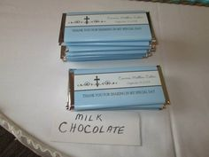 Chocolate favors? Yes please!! #capriottiscatering