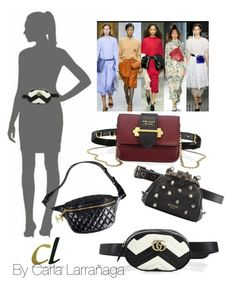 """""""belt bag"""" by carla1509 on Polyvore featuring Gucci, Chanel, Prada and Moschino"""