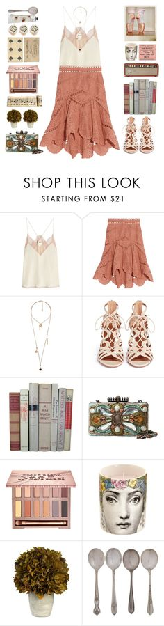 Free spirit by doga1 on Polyvore featuring Zadig & Voltaire, Zimmermann, Aquazzura, Mary Frances Accessories, Violeta by Mango, Urban Decay, TokyoMilk, Fornasetti, Crate and Barrel and Ultimate