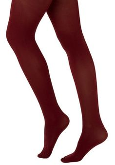$15 Tights for Every Occasion in Wine, #ModCloth
