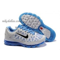 56b301d1bb01 Wholesale Discount Mens White Blue Black Nike Air Max 2011 The Most  Lightweight Shoes