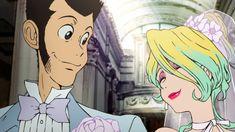 「ルパン三世」新シリーズに登場する新キャラ「レベッカ・ロッセリーニ」とルパン三世(左)原作:モンキー・パンチ(C)TMS