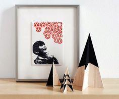 我們看到了。我們是生活@家。: 用木片板作出現代風格的聖誕樹!來自網站Curbly
