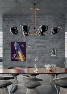 neil unique sci fi ceiling dining vintage lamp