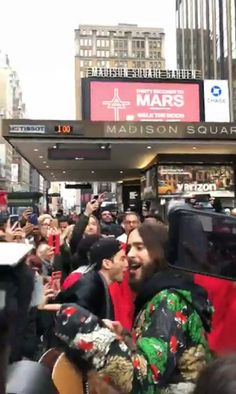 Jared Leto and Stevie Aiello in NYC. Shannon Leto, Jared Leto, Broadway Shows, Nyc, America, New York City, Usa
