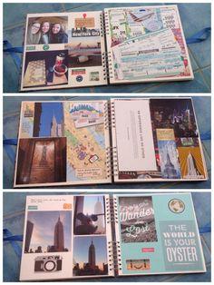 My travel scrapbook Travel Scrapbook, Jfk, Scrapbooking, City, World, Cover, Books, Libros, Book