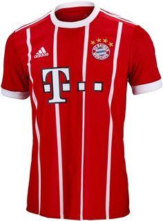 Buy the 2017/18 Kids adidas Bayern Munich Home Jersey from www.soccerpro.com