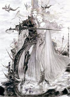 Yoshitaka Amano - Final Fantasy V