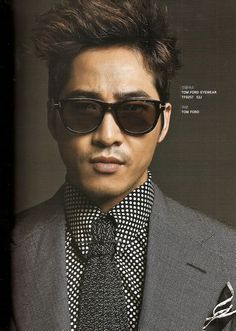 Tom Ford Selects Kang Ji Hwan as the First Korean Model for His Eye Wear Line | A Koala's Playground