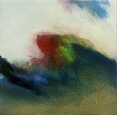 Studie 35, 2007 (P.Wienand)  Öl auf Leinwand/Holz, 25 x 25 cm