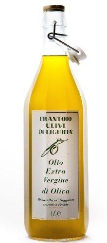 Olio extravergine di oliva monocultivar taggiasca bottiglia vichy