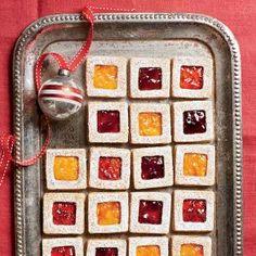 Pecan Linzer Cookies   MyRecipes.com