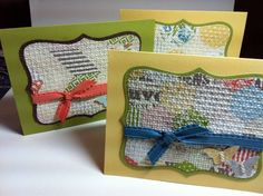 Tea for Two DSP Top Note Quilt Card by NY2TX_Patti - Cards and Paper Crafts at Splitcoaststampers