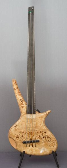 Bass of the Week: CG Lutherie Orchid Custom Bass Guitar, Custom Electric Guitars, Custom Guitars, Music Guitar, Cool Guitar, I Love Bass, Guitar Design, Vintage Guitars, Guitar Lessons