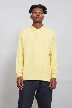 Vintage long sleeved Fila polo t-shirt