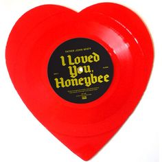 Father John Misty // Heart Shaped Vinyl // I Loved You Honeybee ❤️