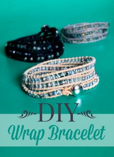DIY wrap bracelets are a great gift idea!