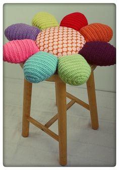 flower petal stool