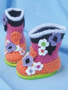 76ca76faa7ac0 25 Best Crochet Baby Bootie Patterns images