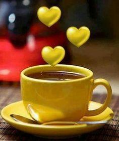 Love the hearts c'est bon, good morning coffee, good morning sunshine, Happy Coffee, Good Morning Coffee, Good Morning Sunshine, Good Morning Good Night, Morning Wish, I Love Coffee, Good Morning Quotes, Coffee Break, My Coffee