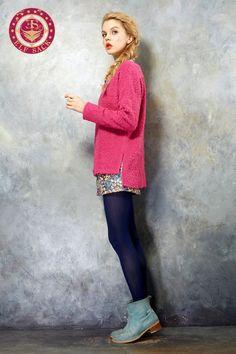 Women's Loose Fashion Round Neck Sweater
