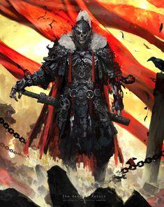 ArtStation - 将军归来, 魔 苏 Fantasy Character Design, Character Design Inspiration, Character Concept, Character Art, Concept Art, Fantasy Armor, Dark Fantasy Art, Medieval Fantasy, Dark Art
