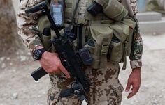 Bundeswehr soldier loadout.