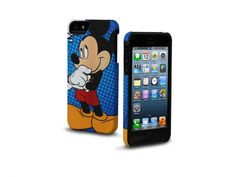 Rigid PVC case for iPhone 5, subject Mickey mouse  http://www.sbsmobile.com/iphone/fashion_disney/1753_disney-case-for-iphone-5.html