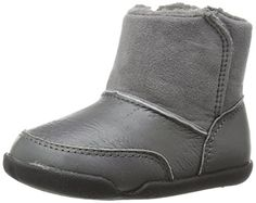 Carters Every Step Stage 2 Bucket Early Walker Boot InfantToddler Grey 5 M US Toddler * For more information, visit image link.Note:It is affiliate link to Amazon.