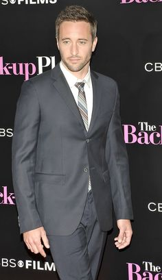 ♥♥♥♥♥  Alex O'Loughlin at the LA premier of the Back Up Plan