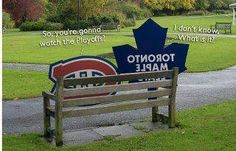 montreal Canadiens and Toronto Maple Leafs... More Canadian Hockey fun
